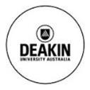 Deakin University Scholarships for International Students in Australia, 2017
