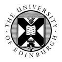 Edinburgh Global Undergraduate Mathematics Scholarships at University of Edinburgh, UK