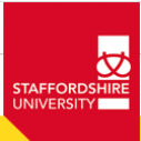 EU Scholarships at Staffordshire University in UK