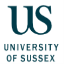 Digit PhD international awards at University of Sussex, UK