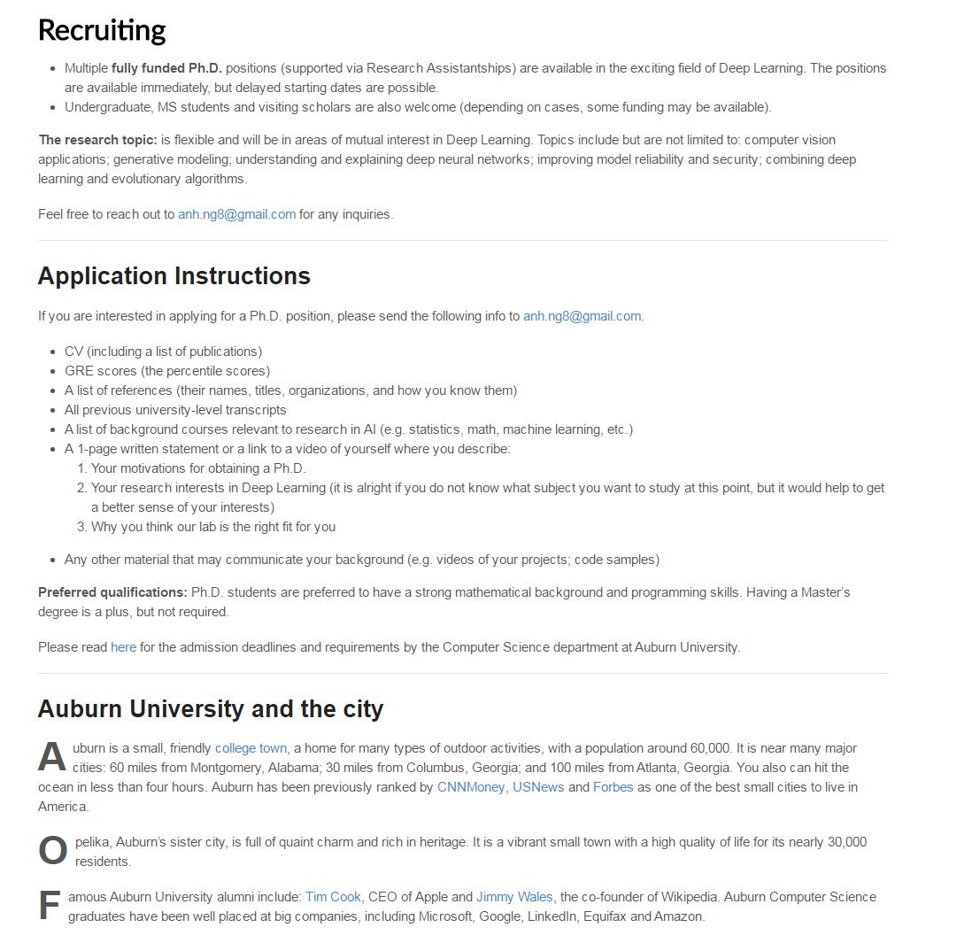 Auburn University Fully funded PhD Scholarships for